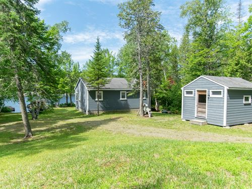 Waterfront Camp For Sale in Maine : Danforth : Penobscot County : Maine