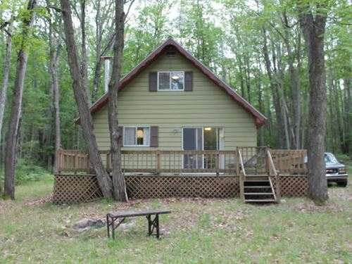 Cabin Near Voyer Lake Atlanta MI : Atlanta : Montmorency County : Michigan
