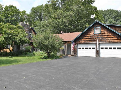 Custom Craftsmanship On 40 Acres : Phoenix : Oswego County : New York