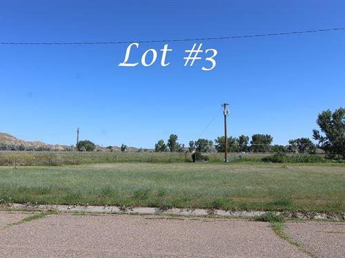 Vacant Lot For Sale in Glendive, MT : Glendive : Dawson County : Montana