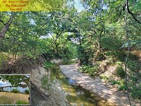 Home On 46.9 Ac & Big Elm Creek : Temple : Bell County : Texas
