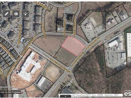 Commercial Land : Winston-Salem : Forsyth County : North Carolina