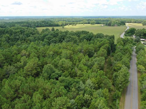 Wooded Perfect For Sf Residence : Iva : Abbeville County : South Carolina