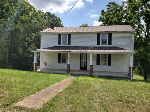 Auction Farmhouse & 3 Parcels : Bedford : Virginia