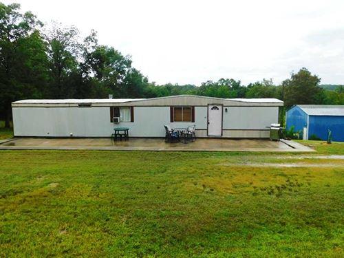 Residential Home on 3 Acres For Sa : Wappapello : Wayne County : Missouri