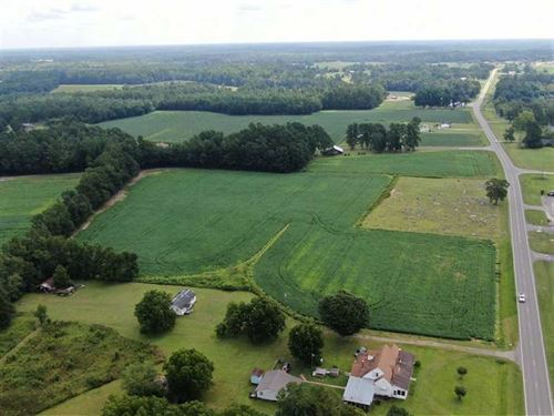 Under Contract, 14 Acres of Farm : Cerro Gordo : Columbus County : North Carolina