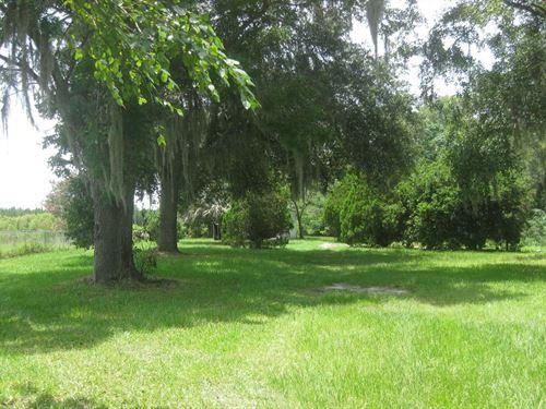 4.5 Acres Very Beautiful Land Ready : Live Oak : Suwannee County : Florida
