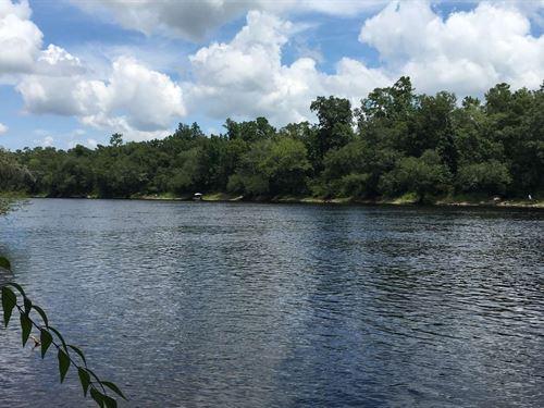 Suwannee Riverfront Hunting Land : Mayo : Lafayette County : Florida