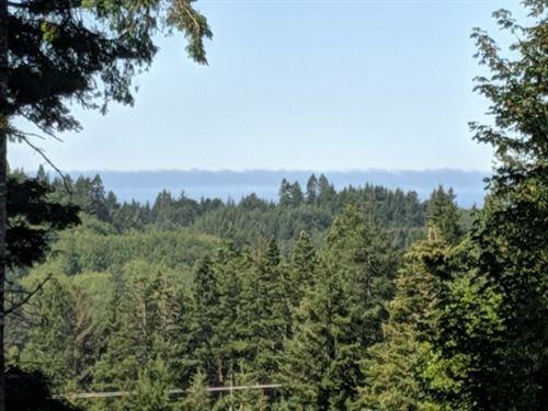 Land Southern Oregon Coast Peak : Gold Beach : Curry County : Oregon
