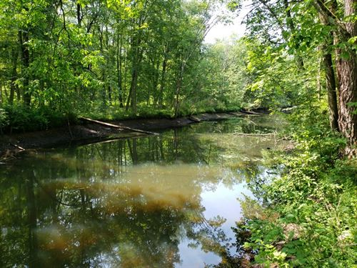 Hudson River Canal Front : Queensbury : Warren County : New York