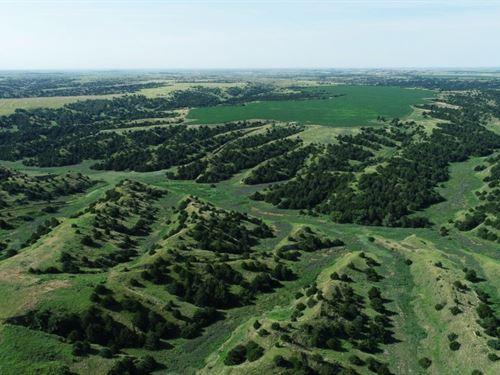 Frontier County Rangeland And Drycr : Maywood : Frontier County : Nebraska