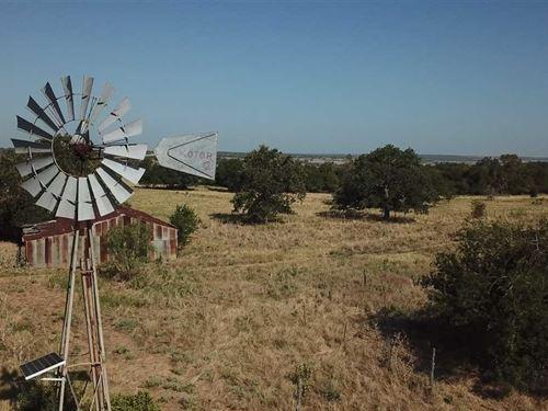 Land For Sale in Central Texas : Evant : Hamilton County : Texas