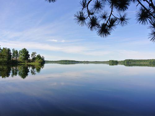 179770, Buckskin Lake Parcel : Lac Du Flambeau : Vilas County : Wisconsin