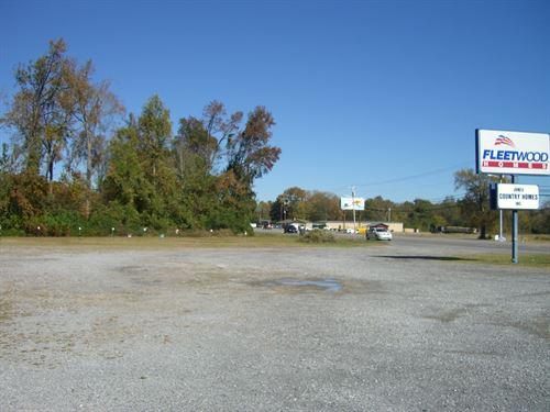 6 Acres Commercial Land Scottsboro : Scottsboro : Jackson County : Alabama