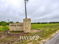 Residential Lot Close To Town : Stephenville : Erath County : Texas