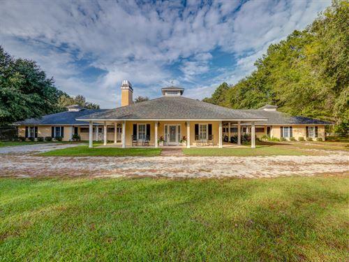 Horse Property That Has It All : Brunson : Hampton County : South Carolina