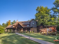 Executive Home On 187 Acres : Olive Hill : Carter County : Kentucky