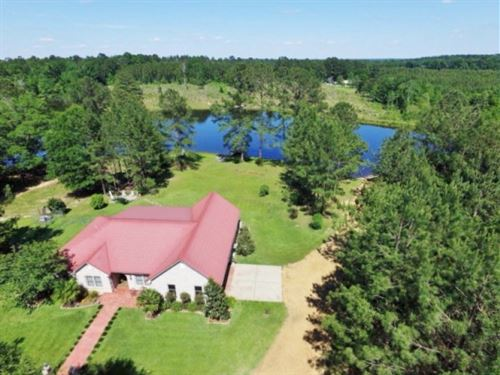 3 Bed, 2 Bath Home, 39.72 Acres, LA : Summit : Pike County : Mississippi