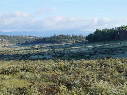 Vacant Land Mountain Views Como, CO : Como : Park County : Colorado