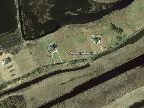 10 Acres on North Topsail Beach : North Topsail Beach : Onslow County : North Carolina