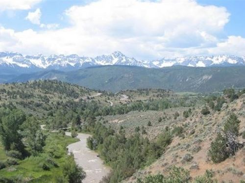 Lot, Riversage Subdivision : Ridgway : Ouray County : Colorado