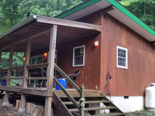 Hideaway Mountains.Cabin : Nimitz : Summers County : West Virginia