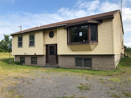 Country Home on Ten Acres : Mohawk : Herkimer County : New York