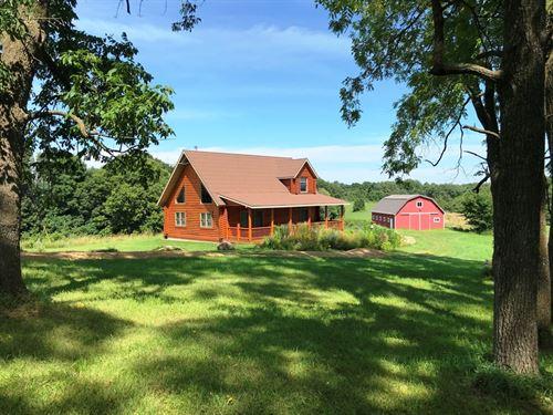40178 Glen Ridge Ln, 40 Acres : Boscobel : Crawford County : Wisconsin