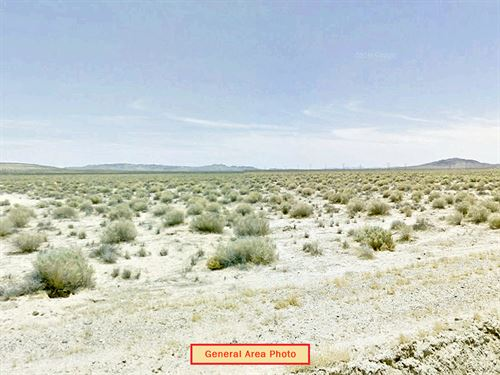 4.24 Acre Lot Nw Of Barstow : Hinkley : San Bernardino County : California