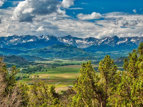 Mountain Views Pavement Utilities : Ridgway : Ouray County : Colorado