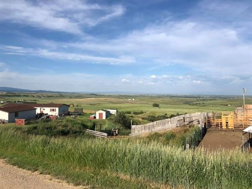 Central Montana Home 20 Acres : Lewistown : Fergus County : Montana