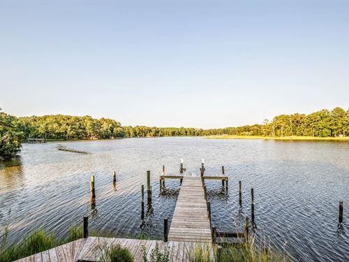Waterfront Home Auction Farnham : Farnham : Richmond County : Virginia