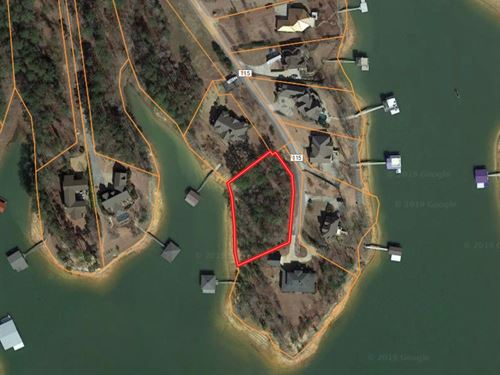 Lot on Lewis Smith Lake : Crane Hill : Cullman County : Alabama