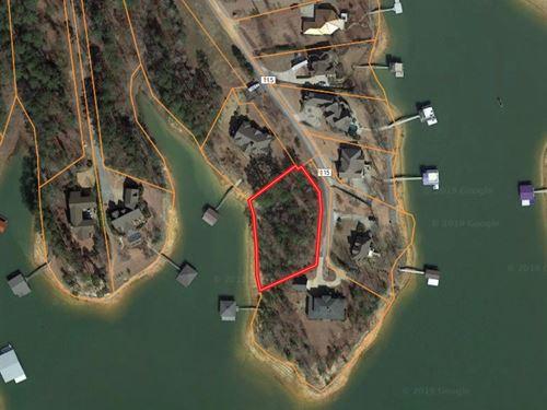 Lot on Lewis Smith Lake : Crane Hill : Cullman County : Alabama