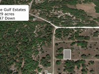 Residential .29 Acre Cleared Lot : Crystal River : Citrus County : Florida
