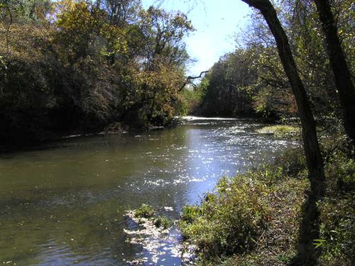 River Frontage, Year Round Creek : Dunlap : Sequatchie County : Tennessee