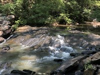 Hunting Land with Awesome Creek : Dadeville : Tallapoosa County : Alabama