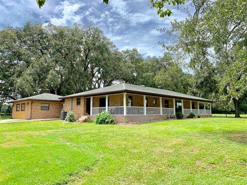 Country Home, 15 Acres, Trenton : Trenton : Gilchrist County : Florida