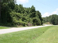 Beautiful View Of Mountain & Valley : Ranburne : Cleburne County : Alabama