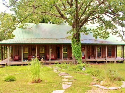 Cabin And Acreage With A View : Marshall : Stone County : Arkansas