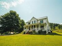Farmhouse Barns Acreage Saltville : Saltville : Smyth County : Virginia