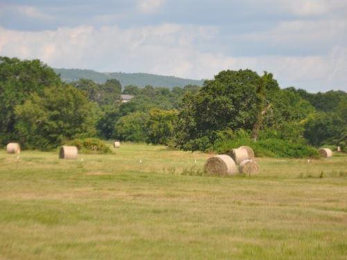 120 Acre Oklahoma Cattle Hay Farm : Howe : Le Flore County : Oklahoma