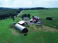 Updated Country Estate and Ranch : Marathon : Cortland County : New York