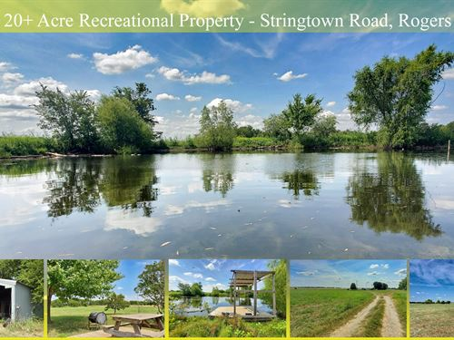 21 Acres With Pond & Rv Pad : Rogers : Bell County : Texas