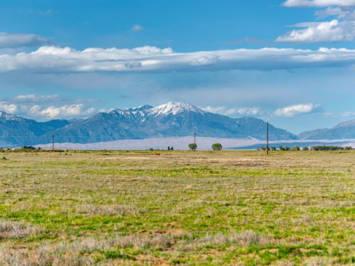 Lot With Electric & Mountain Views : Alamosa : Colorado