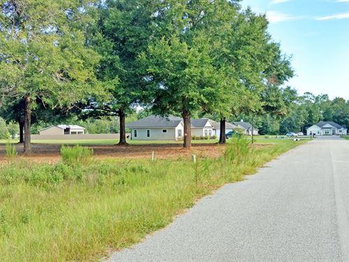 Beautiful Lot In Wingate Estates : Lake City : Columbia County : Florida