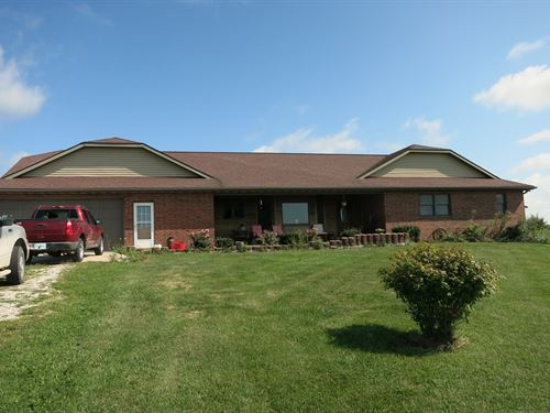 Country Home on 10 Acres M/L : Bethany : Harrison County : Missouri