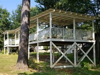 TN River Waterfront Front Camper : Decaturville : Decatur County : Tennessee