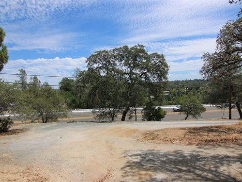 Commercial Lot Highway 49 Frontage : Auburn : Placer County : California