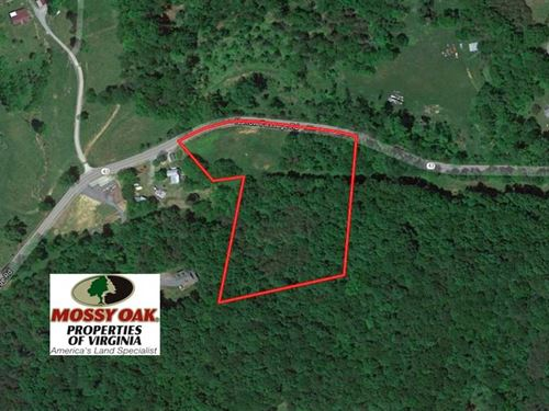 4 Acres of Residential And Hunting : Eagle Rock : Botetourt County : Virginia